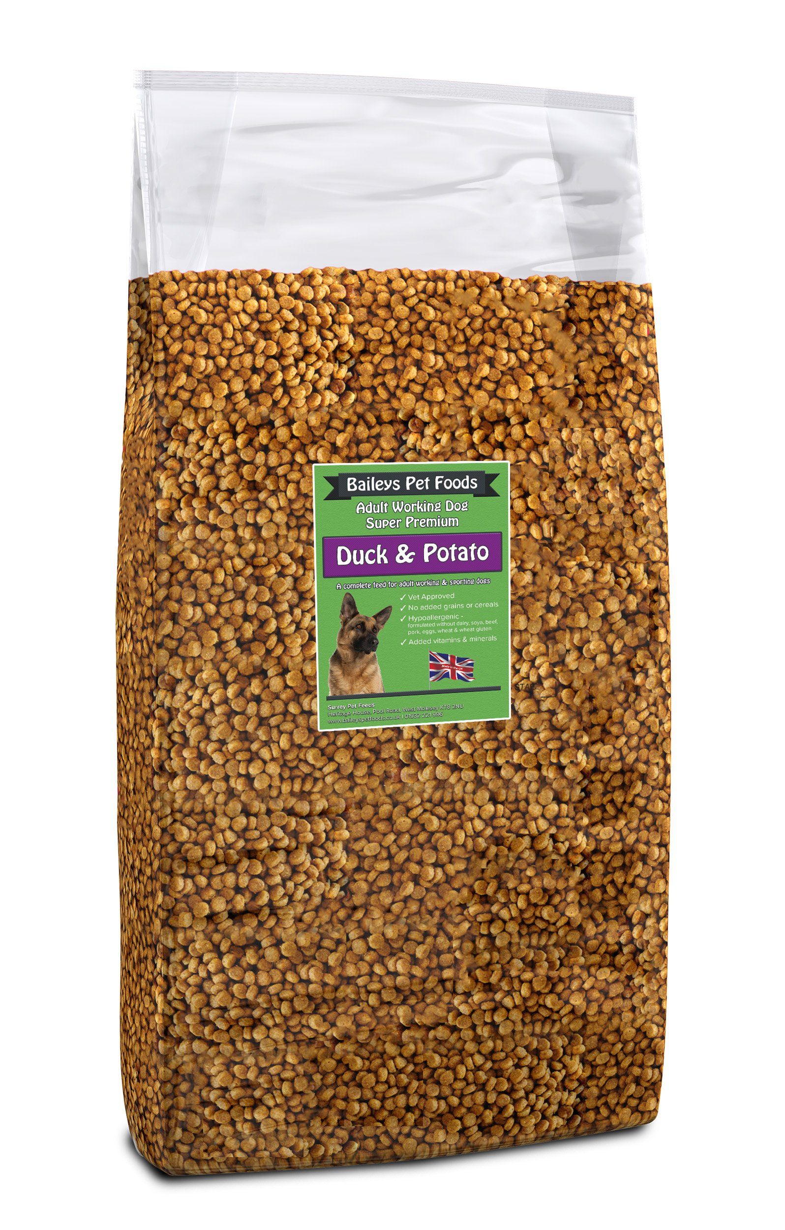 Baileys Duck and Potato Grain Free 15kg